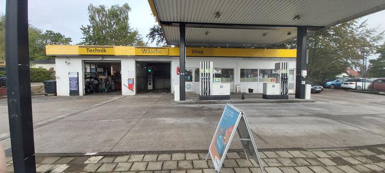 Tankstelle Total Access in Bad Fallingbostel von außen